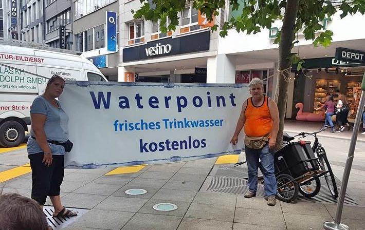 Kaltes, klares Wasser für die Saarbrücker (SZ)